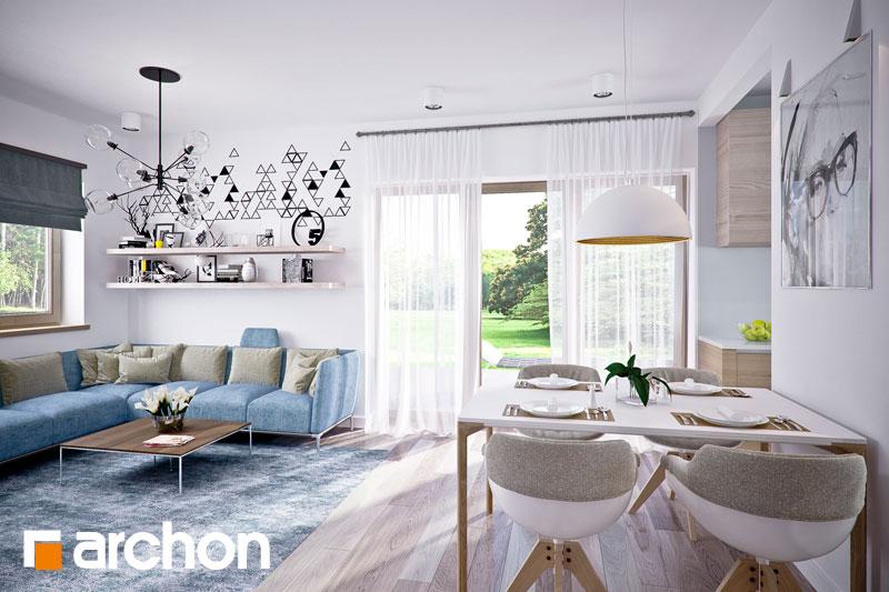 Проект будинку ARCHON+ Будинок в люцерні 4 денна зона (візуалізація 1 від 4)