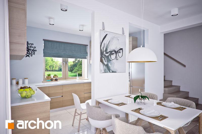 Проект будинку ARCHON+ Будинок в люцерні 4 денна зона (візуалізація 1 від 5)
