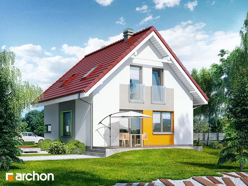 Проект будинку ARCHON+ Будинок в рододендронах 11 (H) стилізація 4