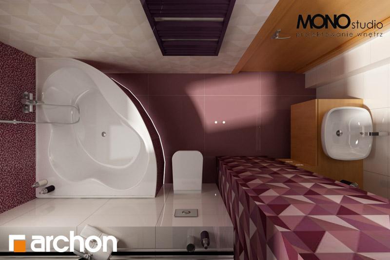 Проект будинку ARCHON+ Будинок в хлорофітумі 2 візуалізація ванни (візуалізація 1 від 5)