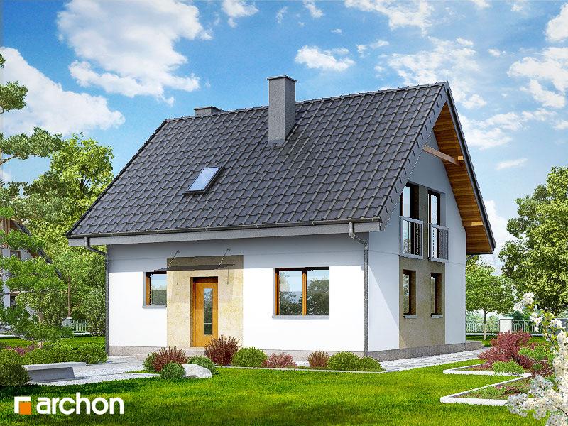 Проект будинку ARCHON+ Будинок в хлорофітумі 2 стилізація 5