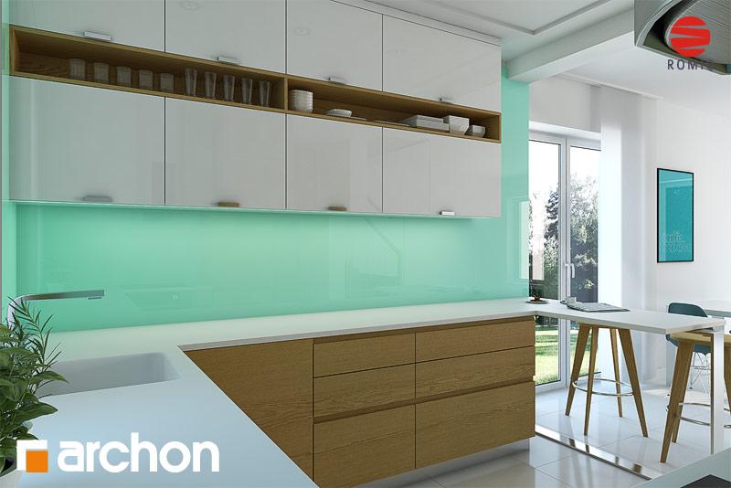 Проект будинку ARCHON+ Будинок в красивоягідниках аранжування кухні 1 від 3