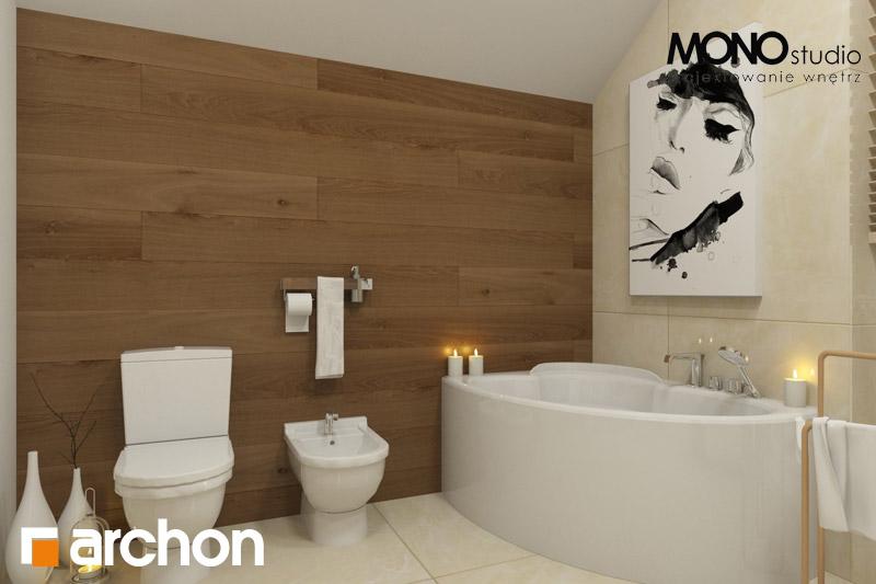 Проект будинку ARCHON+ Будинок в красивоягідниках візуалізація ванни (візуалізація 1 від 1)