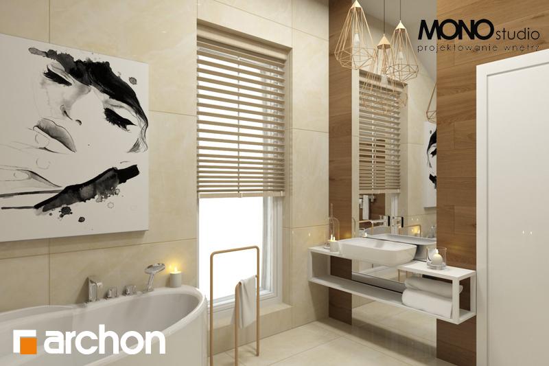 Проект будинку ARCHON+ Будинок в красивоягідниках візуалізація ванни (візуалізація 1 від 2)