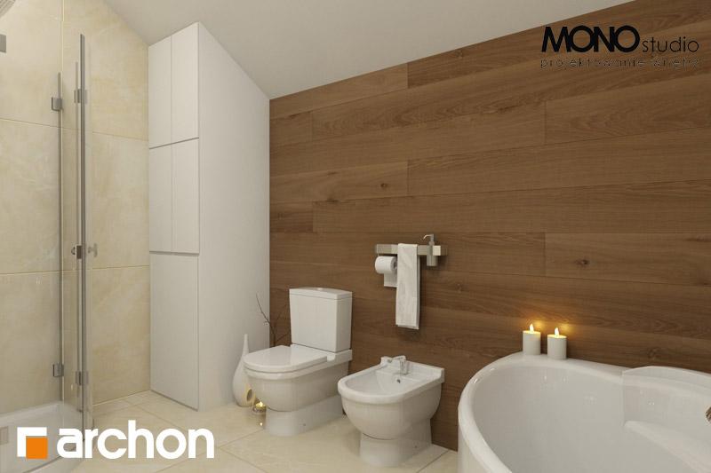 Проект будинку ARCHON+ Будинок в красивоягідниках візуалізація ванни (візуалізація 1 від 3)