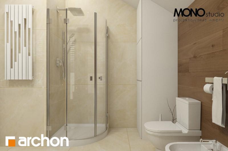 Проект будинку ARCHON+ Будинок в красивоягідниках візуалізація ванни (візуалізація 1 від 4)