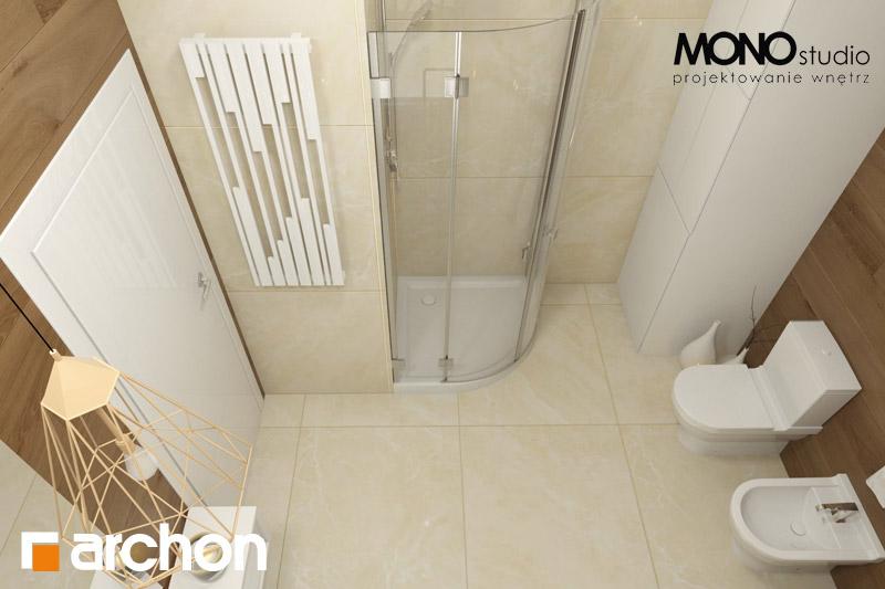 Проект будинку ARCHON+ Будинок в красивоягідниках візуалізація ванни (візуалізація 1 від 5)