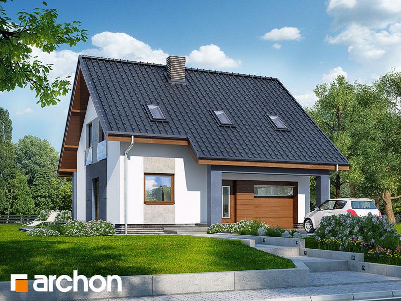 Проект будинку ARCHON+ Будинок в красивоягідниках Вид 1