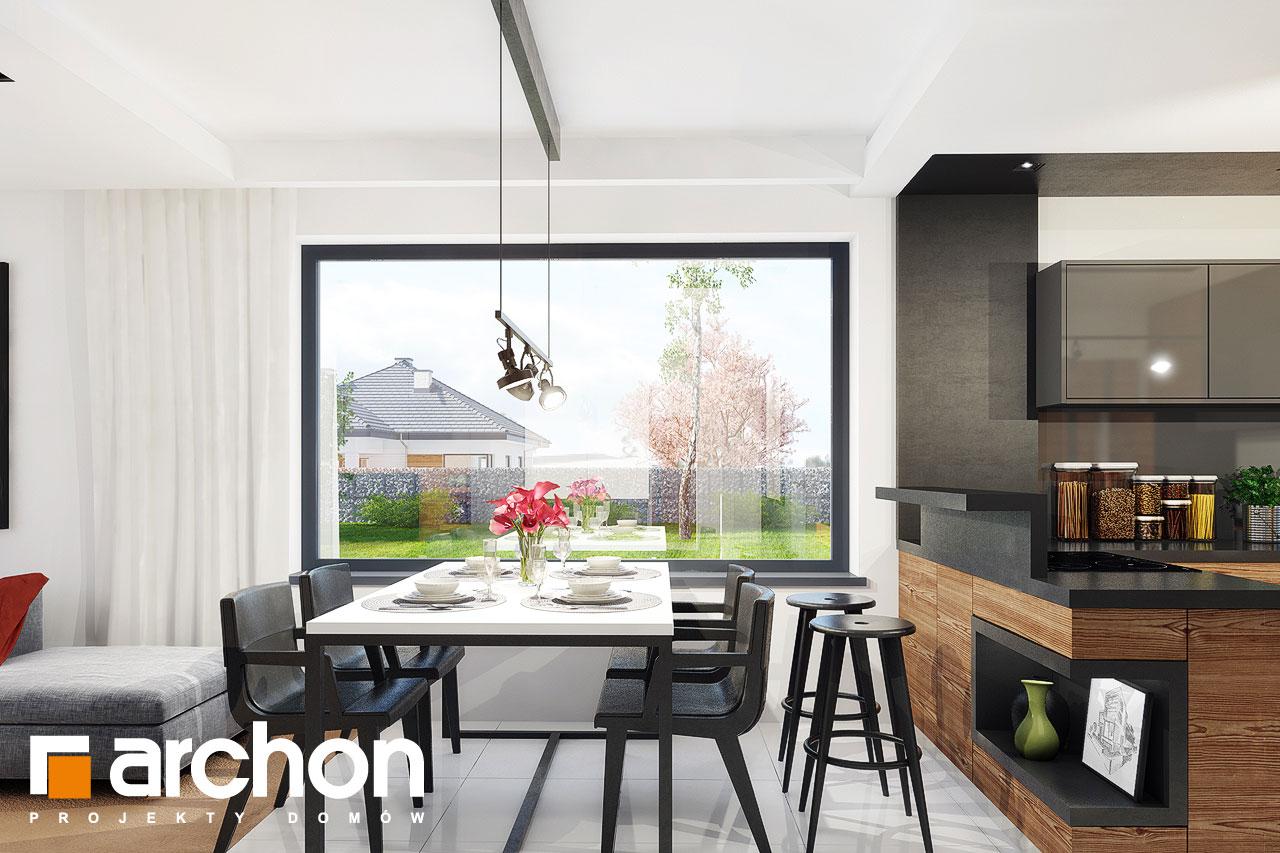 Проект будинку ARCHON+ Будинок під червоною горобиною 8 (H) денна зона (візуалізація 1 від 4)