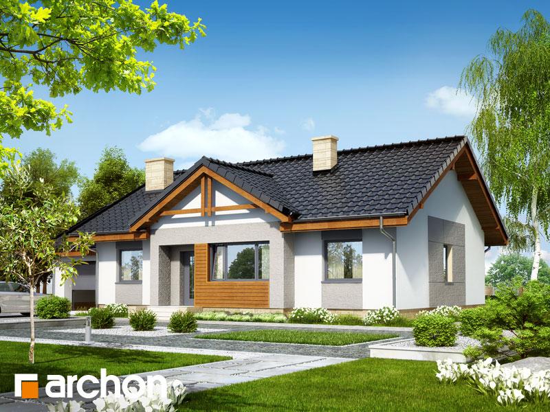 Проект будинку ARCHON+ Будинок в акебіях 4 стилізація 7