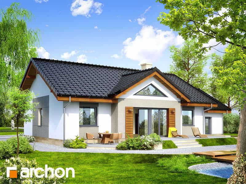 Проект будинку ARCHON+ Будинок в акебіях 4 стилізація 8