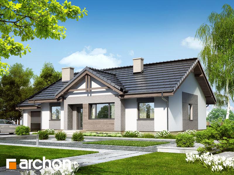 Проект будинку ARCHON+ Будинок в акебіях 4 стилізація 3
