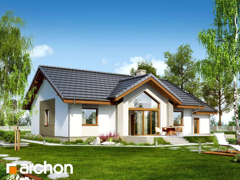 Проект будинку ARCHON+ Будинок в акебіях 4 стилізація 6