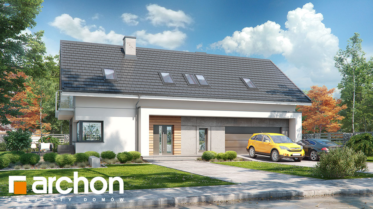 Проект будинку ARCHON+ Будинок у бровниках 4 (Г2) Вид 2