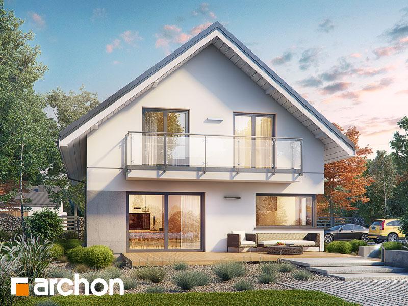 Проект будинку ARCHON+ Будинок у бровниках 4 (Г2) Вид 1