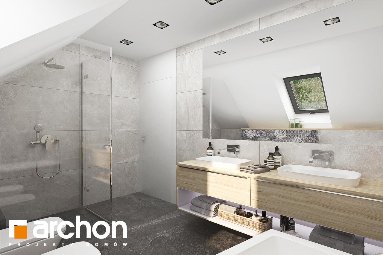 Проект будинку ARCHON+ Будинок в смарагдах 4 (Г) візуалізація ванни (візуалізація 3 від 3)