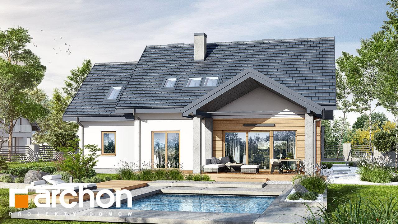 Проект будинку ARCHON+ Будинок в смарагдах 4 (Г) Вид 2