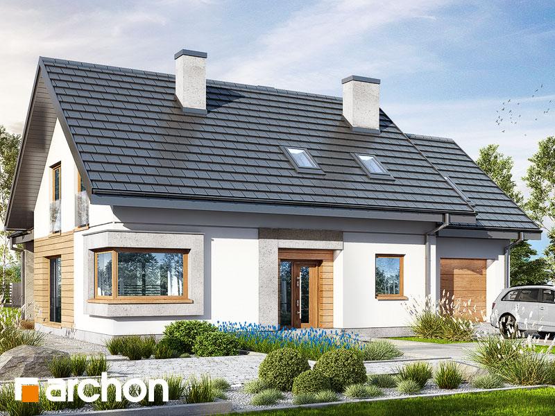 Проект будинку ARCHON+ Будинок в смарагдах 4 (Г) Вид 1