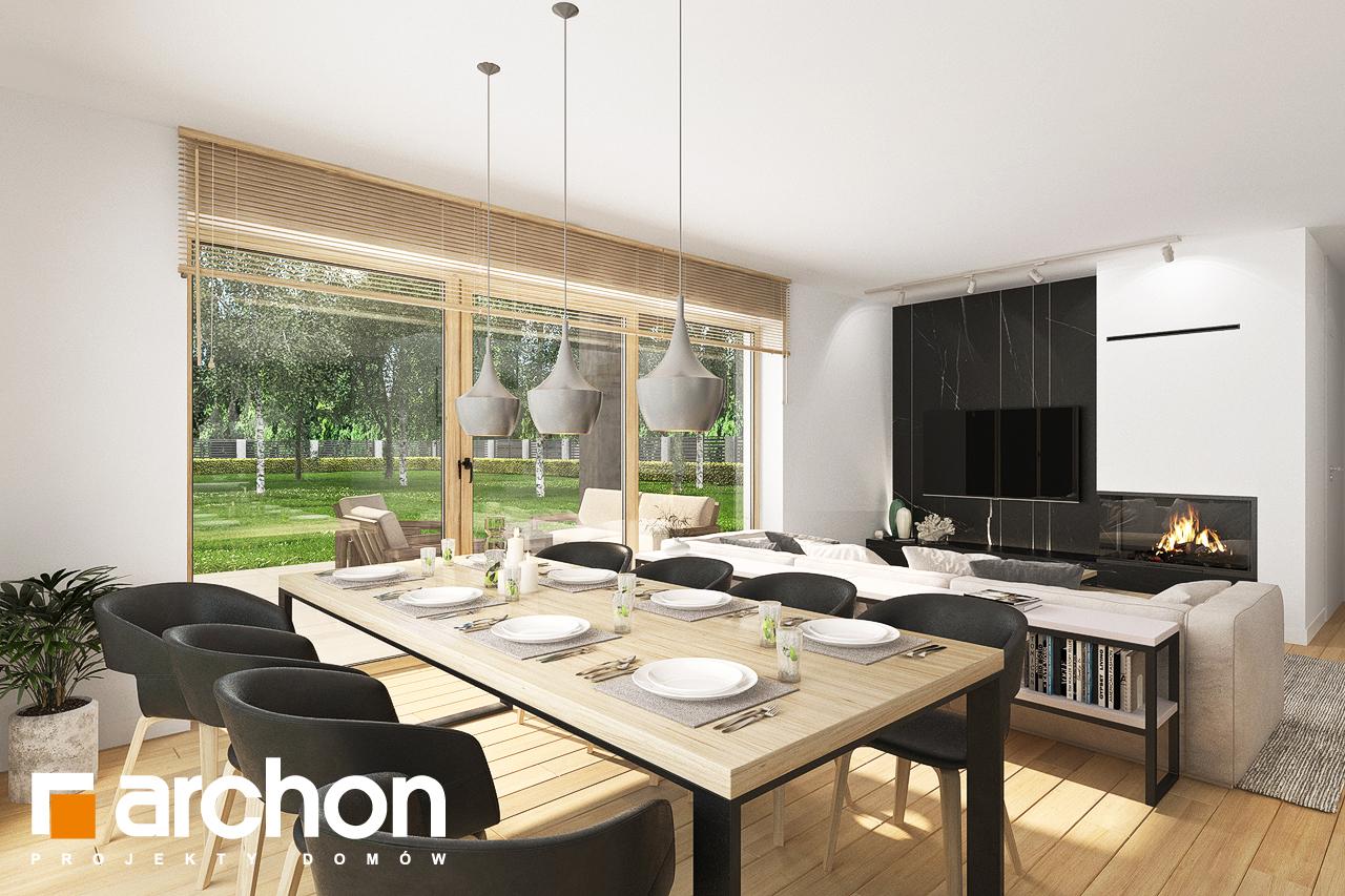 Проект будинку ARCHON+ Будинок в смарагдах 4 (Г) денна зона (візуалізація 1 від 1)