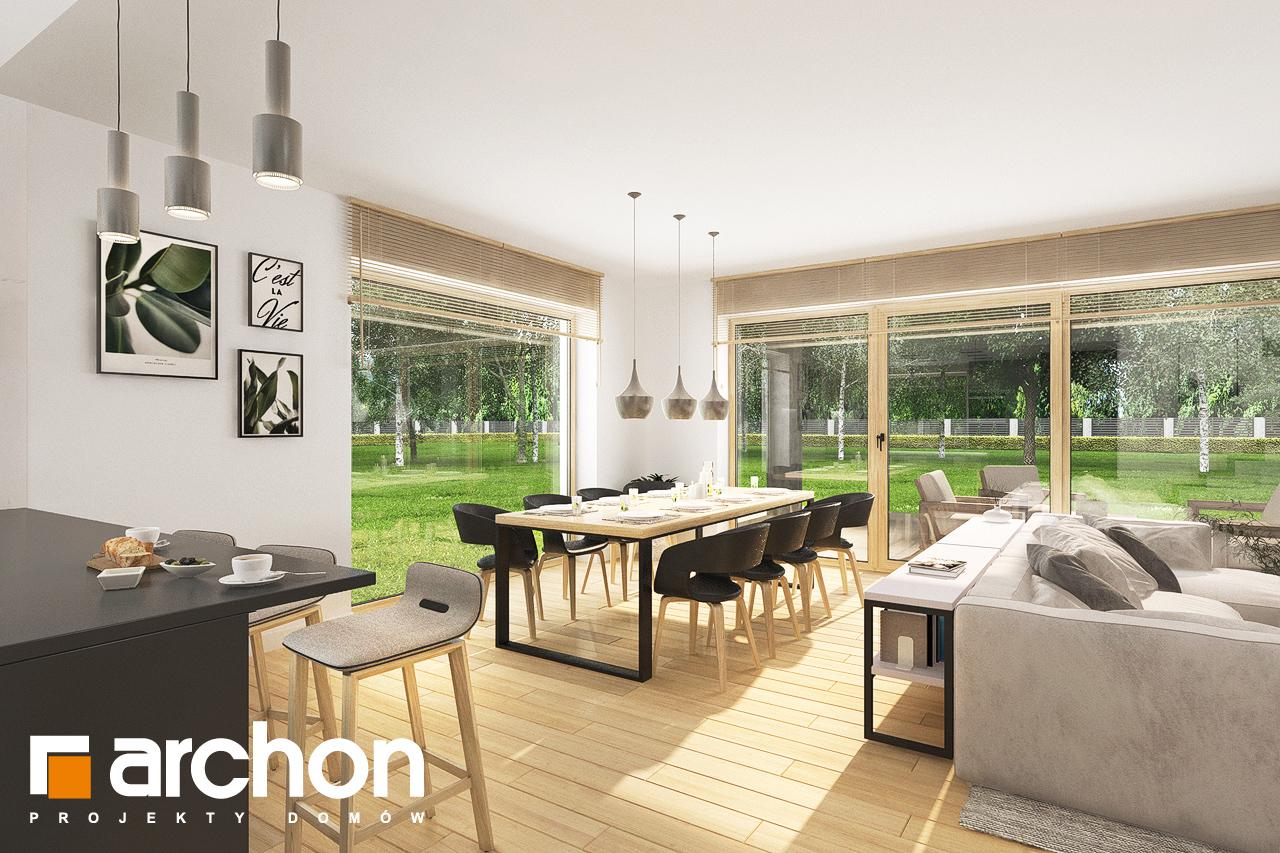 Проект будинку ARCHON+ Будинок в смарагдах 4 (Г) денна зона (візуалізація 1 від 2)