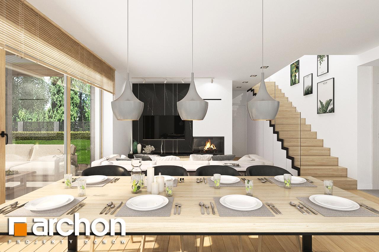 Проект будинку ARCHON+ Будинок в смарагдах 4 (Г) денна зона (візуалізація 1 від 5)
