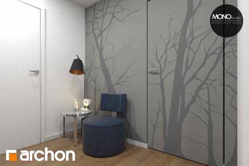 Проект будинку ARCHON+ Будинок в яблонках денна зона (візуалізація 2 від 13)