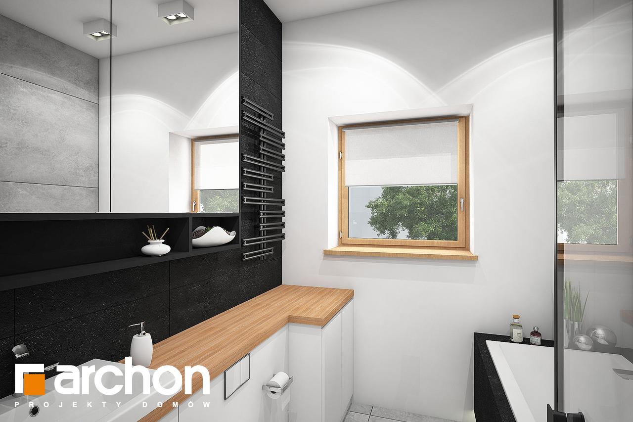 Проект будинку ARCHON+ Будинок під липкою візуалізація ванни (візуалізація 3 від 1)
