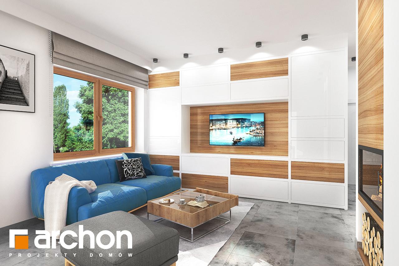 Проект будинку ARCHON+ Будинок під липкою денна зона (візуалізація 1 від 1)