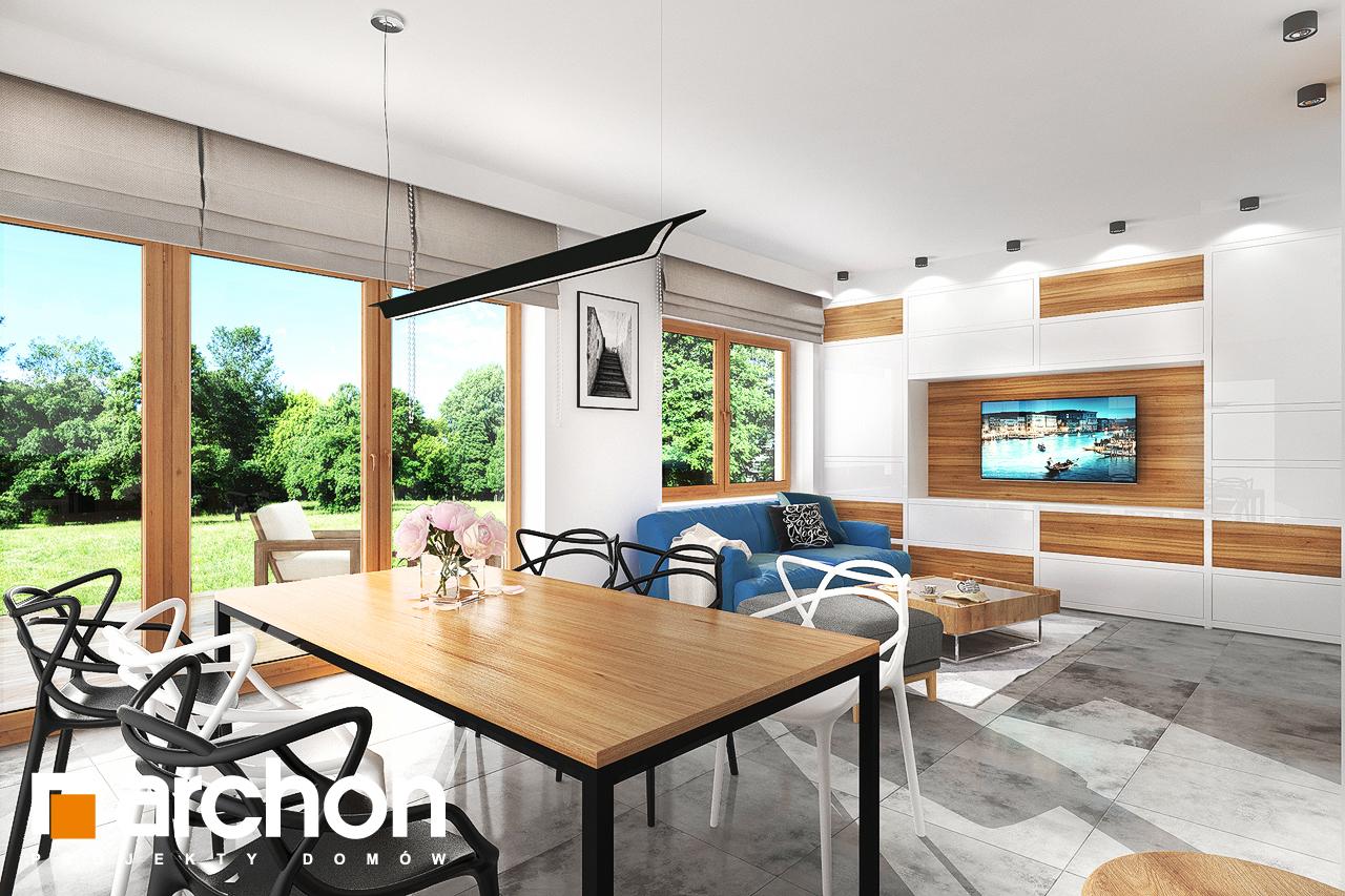 Проект будинку ARCHON+ Будинок під липкою денна зона (візуалізація 1 від 5)