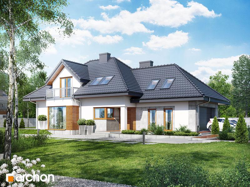 Проект будинку ARCHON+ Будинок в руколі 3 (Н) додаткова візуалізація