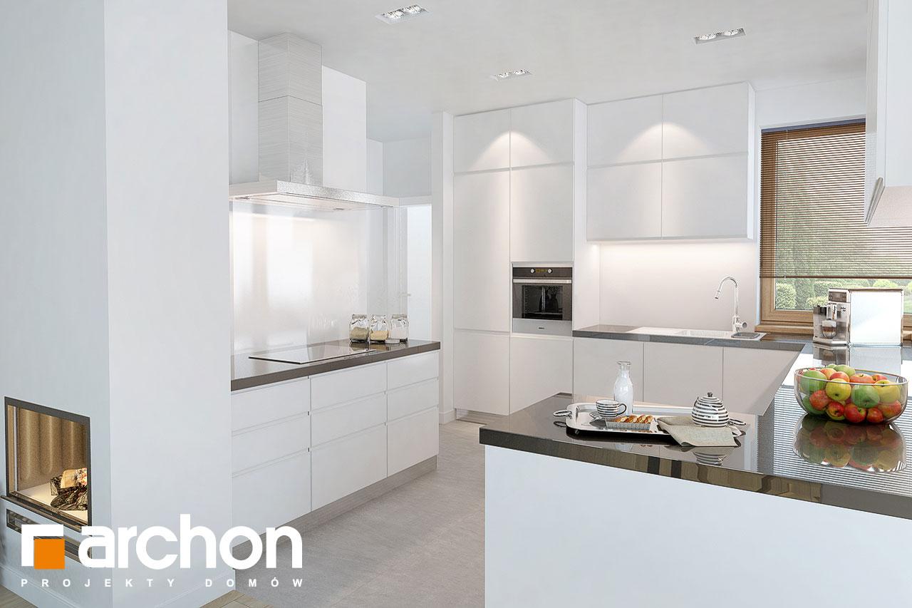 Проект будинку ARCHON+ Будинок в руколі 3 (Н) візуалізація кухні 1 від 1