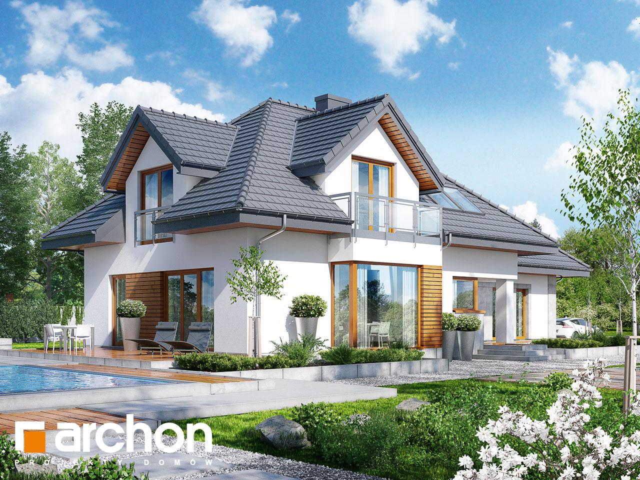 Проект будинку ARCHON+ Будинок в руколі 3 (Н) Вид 2