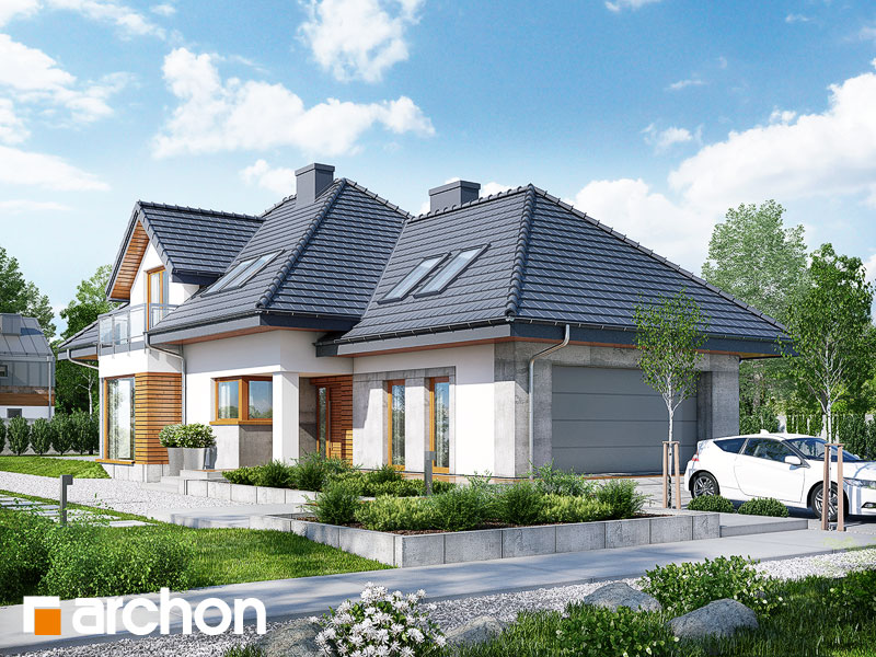 Проект будинку ARCHON+ Будинок в руколі 3 (Н) Вид 1