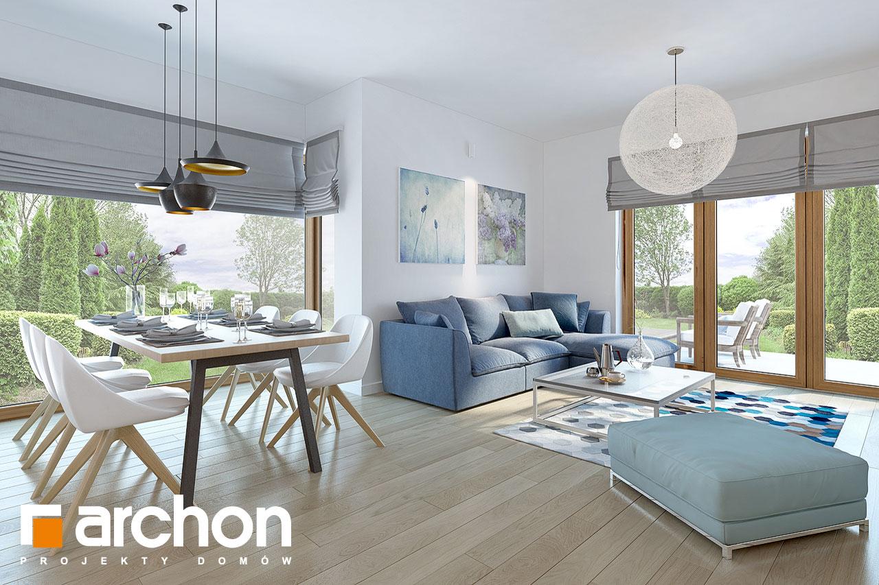 Проект будинку ARCHON+ Будинок в руколі 3 (Н) денна зона (візуалізація 1 від 1)