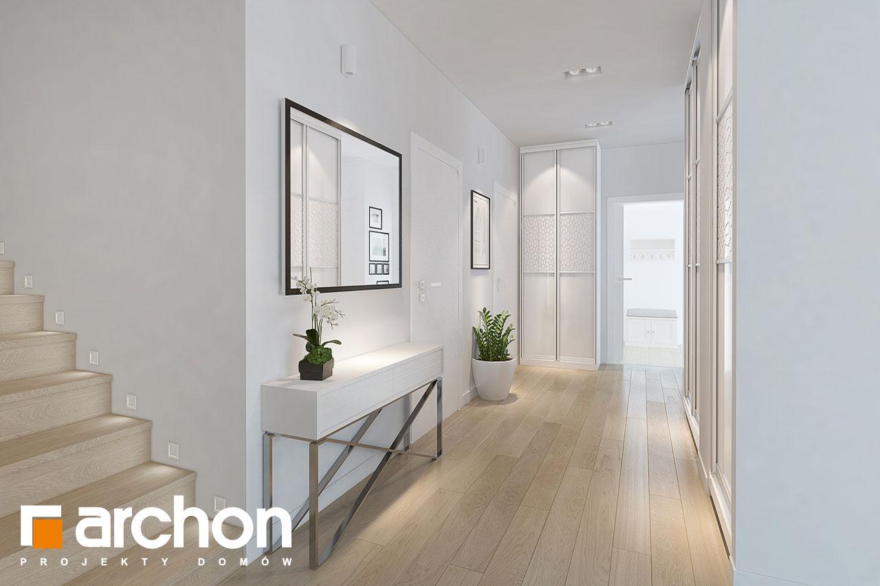 Проект будинку ARCHON+ Будинок в руколі 3 (Н) денна зона (візуалізація 1 від 3)