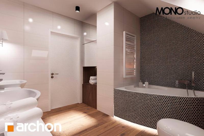 Проект дома ARCHON+ Дом в яблонках (Г2) визуализация ванной (визуализация 1 вид 2)