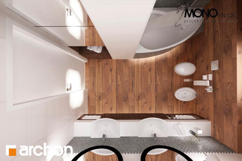 Проект дома ARCHON+ Дом в яблонках (Г2) визуализация ванной (визуализация 1 вид 5)