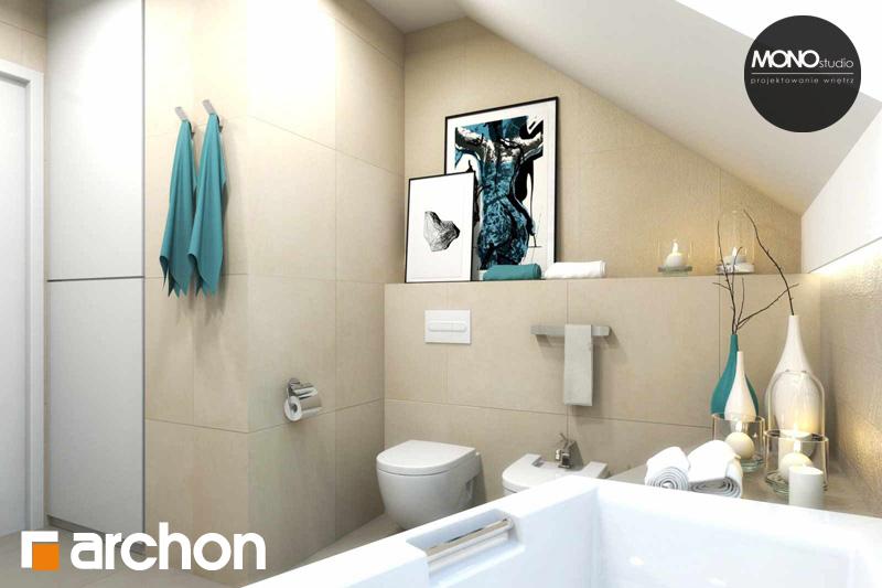 Проект будинку ARCHON+ Будинок в яблонках (Г2) візуалізація ванни (візуалізація 3 від 4)