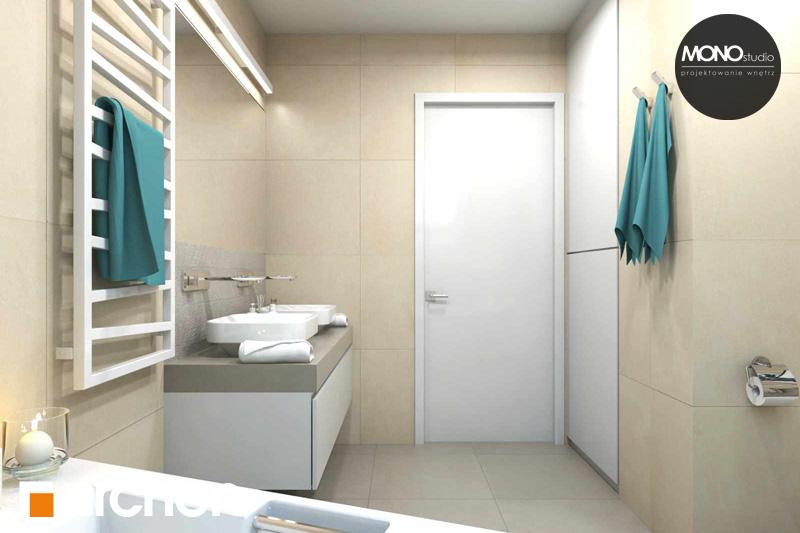 Проект будинку ARCHON+ Будинок в яблонках (Г2) візуалізація ванни (візуалізація 3 від 5)