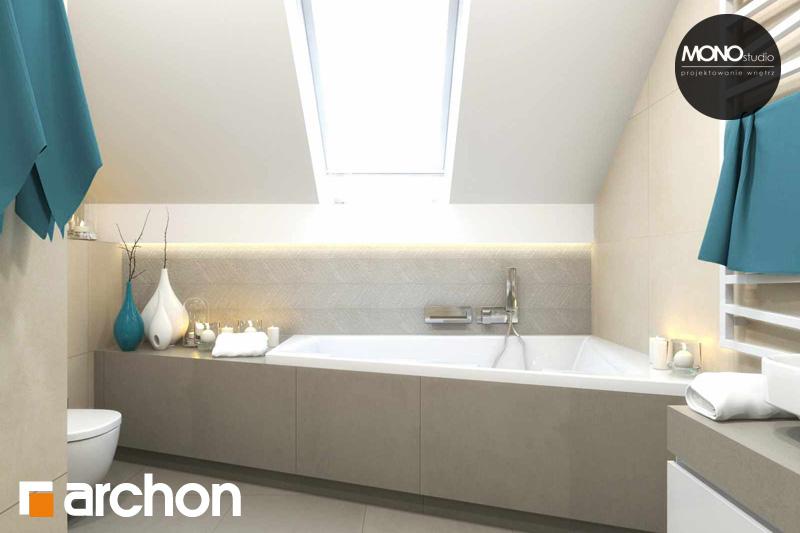 Проект дома ARCHON+ Дом в яблонках (Г2) визуализация ванной (визуализация 3 вид 1)