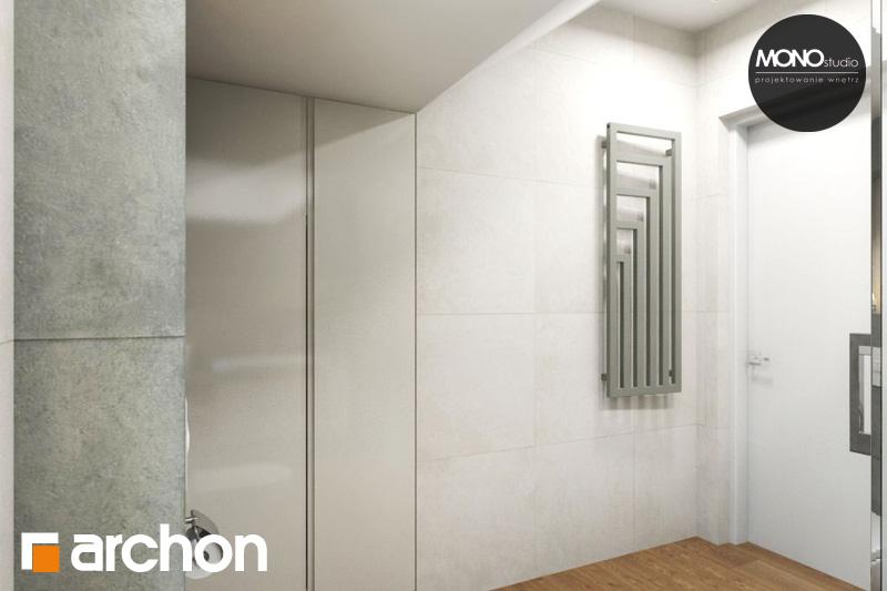 Проект будинку ARCHON+ Будинок в яблонках (Г2) візуалізація ванни (візуалізація 4 від 1)