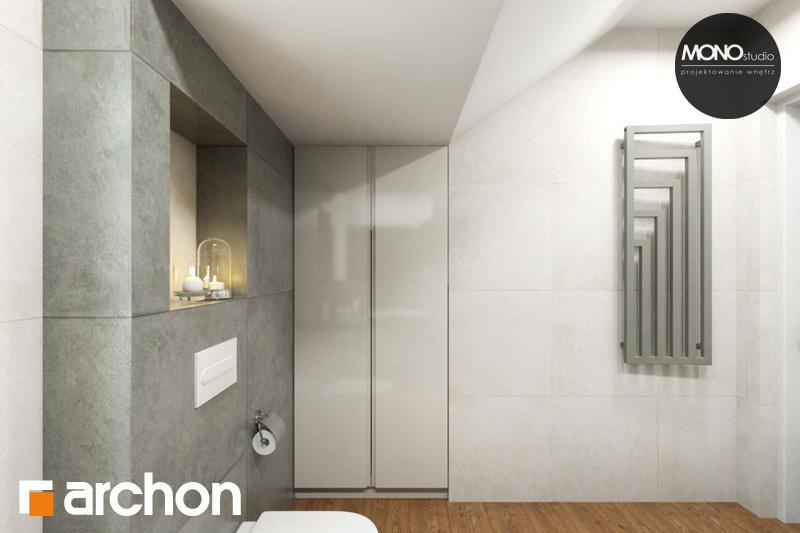 Проект будинку ARCHON+ Будинок в яблонках (Г2) візуалізація ванни (візуалізація 4 від 2)
