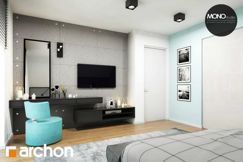 Проект будинку ARCHON+ Будинок в яблонках (Г2) нічна зона (візуалізація 1 від 4)