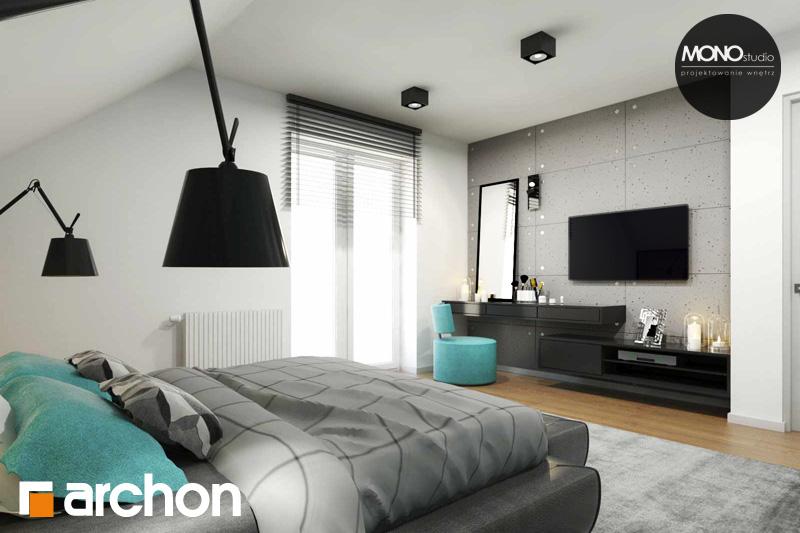 Проект будинку ARCHON+ Будинок в яблонках (Г2) нічна зона (візуалізація 1 від 5)