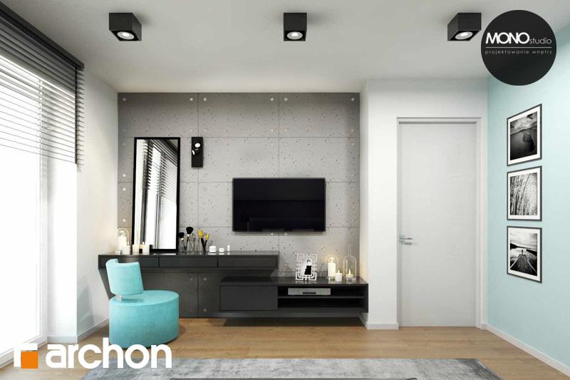 Проект дома ARCHON+ Дом в яблонках (Г2) ночная зона (визуализация 1 вид 1)