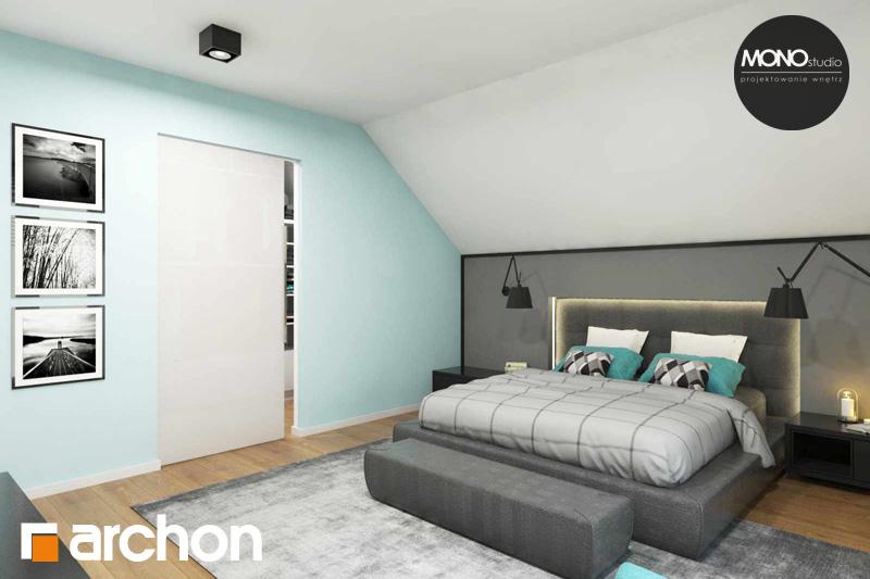 Проект дома ARCHON+ Дом в яблонках (Г2) ночная зона (визуализация 1 вид 3)