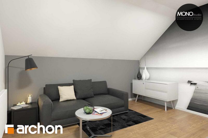 Проект будинку ARCHON+ Будинок в яблонках (Г2) нічна зона (візуалізація 2 від 6)