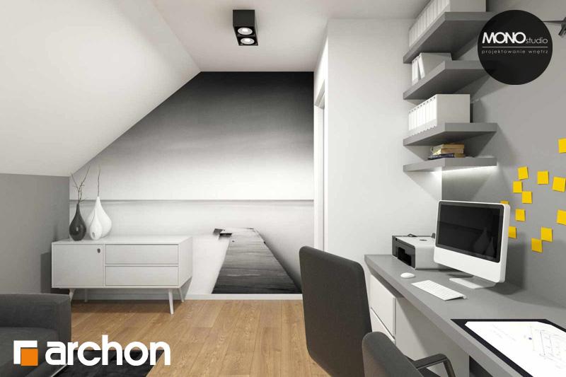Проект дома ARCHON+ Дом в яблонках (Г2) ночная зона (визуализация 2 вид 2)