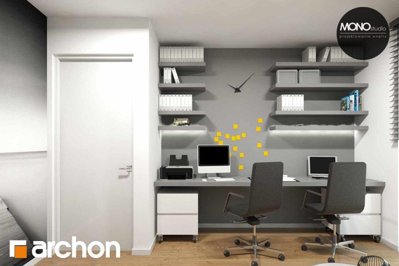 Проект дома ARCHON+ Дом в яблонках (Г2) ночная зона (визуализация 2 вид 4)