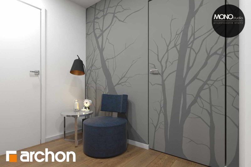Проект будинку ARCHON+ Будинок в яблонках (Г2) денна зона (візуалізація 2 від 13)